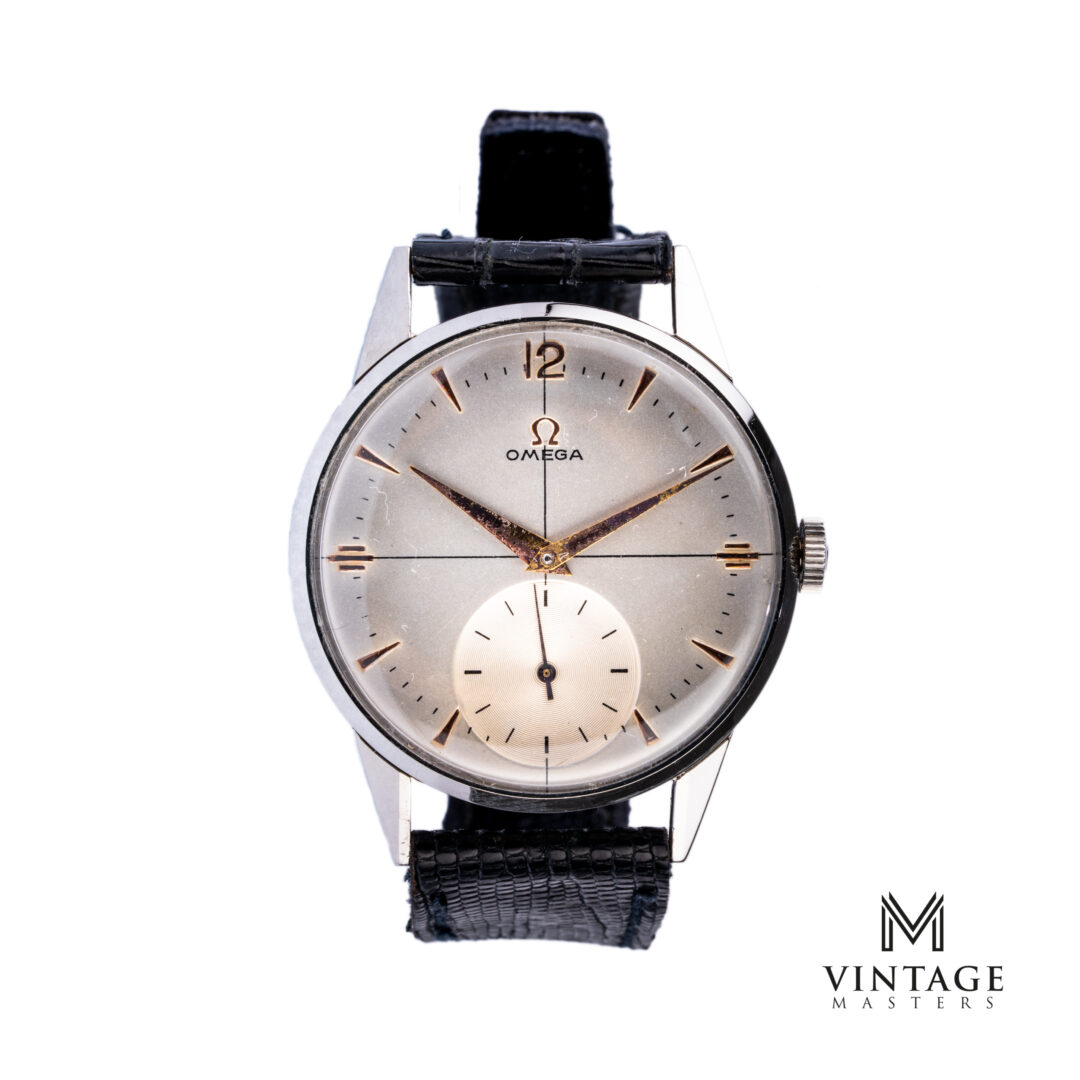 vintage Omega Calatrava Crosshair 1947 Sub-Second 2271-1 front
