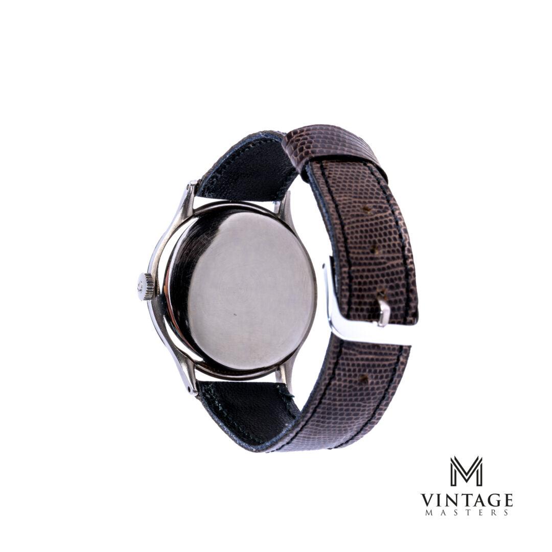 vintage Omega calatrava 2317-15 1951 sub second watch caseback