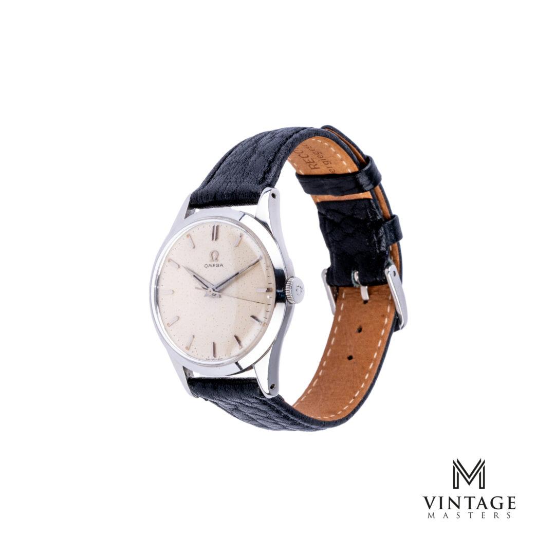 "Omega vintage watch ""Starry Nights"" CK 2760-7 1952 side"