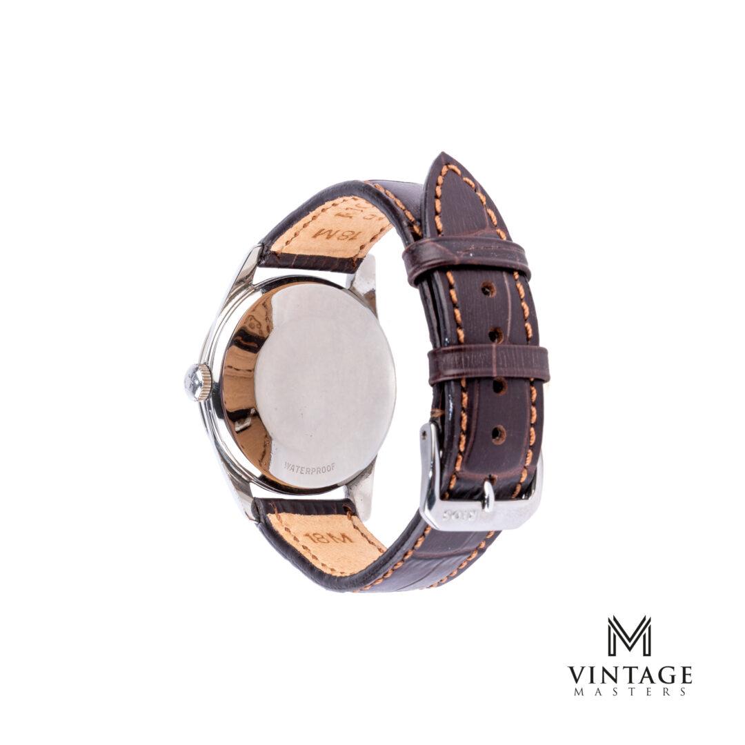 vintage Omega Seamaster Classic Steel 2938-1 SC 1957 watch caseback