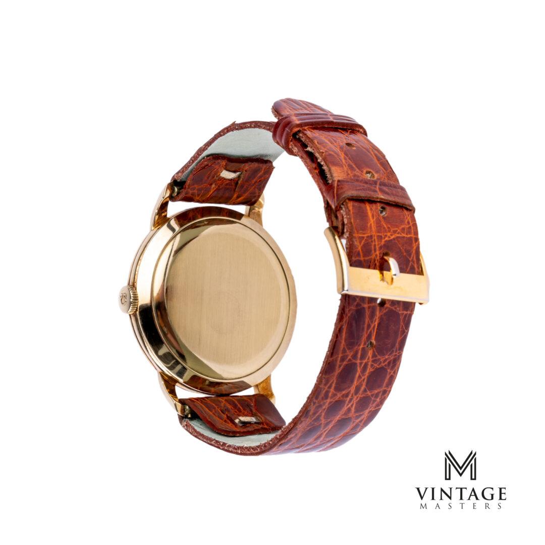 vintage Omega 2686 14K solid gold dress watch caseback