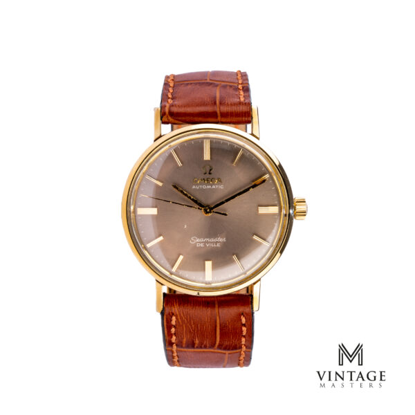 vintage Omega watch Seamaster de Ville Grey Dial US Market 1965 front