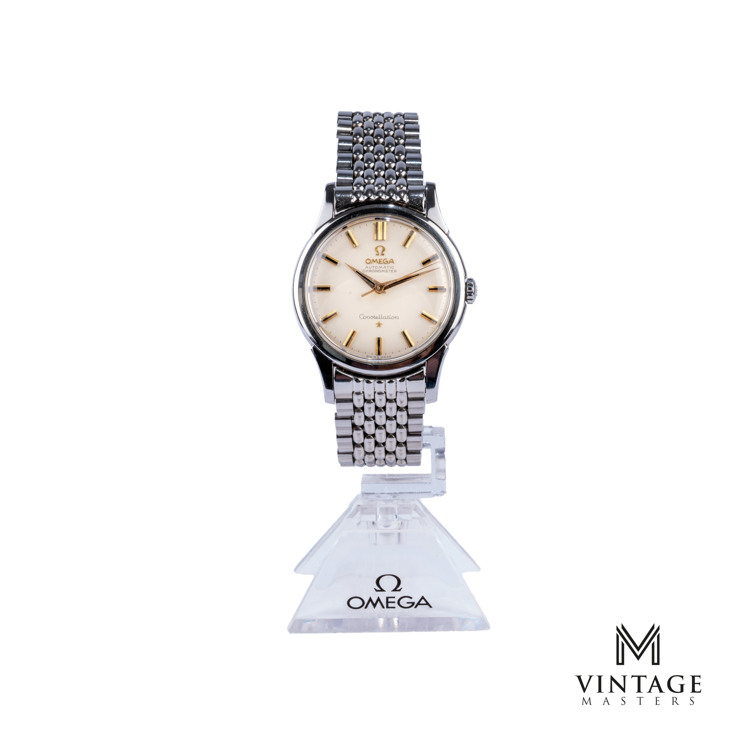 vintage Omega Constellation watch 14381-8 SC front