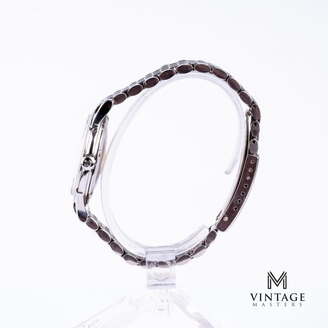 vintage Omega Constellation watch 14381-8 SC side