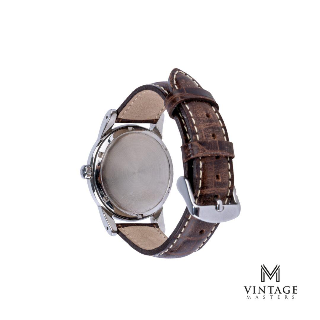vintage Omega Pre-Seamaster watch Steel ref: 2493-2 caseback