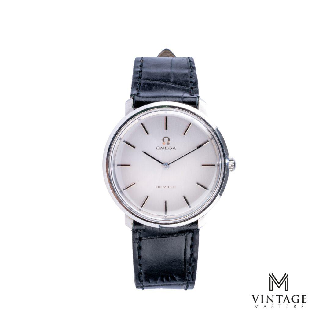 vintage Omega De Ville watch. Manual winding ST 115.0001 front