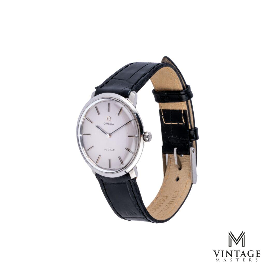 vintage Omega De Ville watch. Manual winding ST 115.0001 side