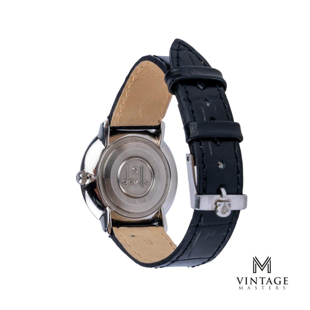 vintage Omega De Ville watch. Manual winding ST 115.0001 caseback