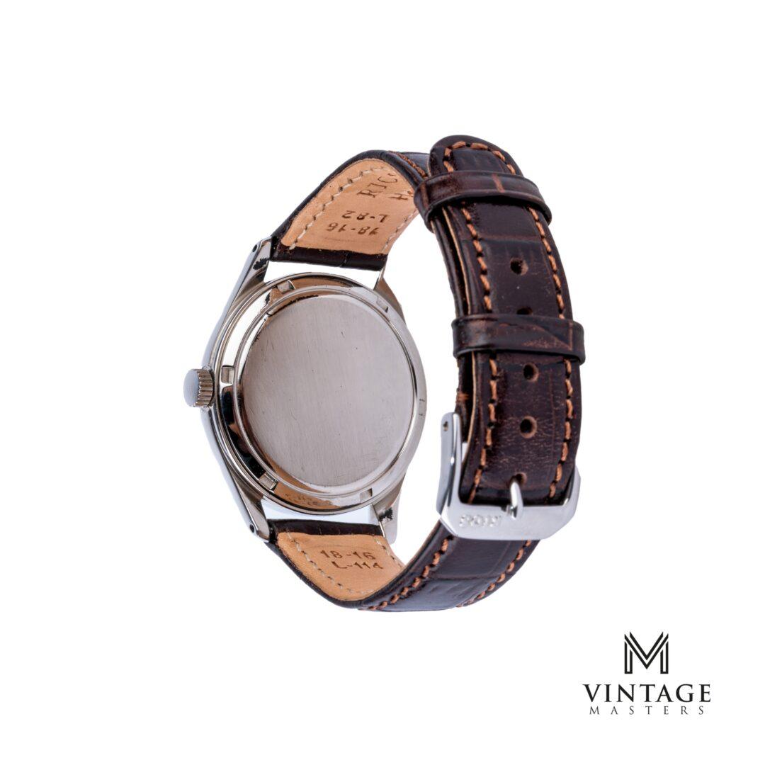 vintage Omega Calatrava watch. Sub-Second 2639-8 1952 caseback