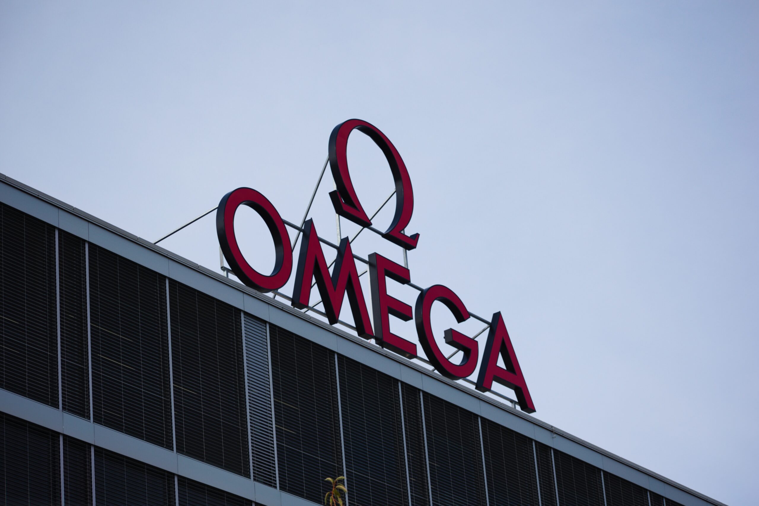 Omega sign logo