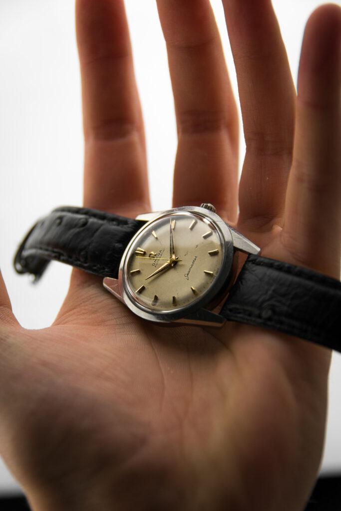 vintage Omega Seamaster watch
