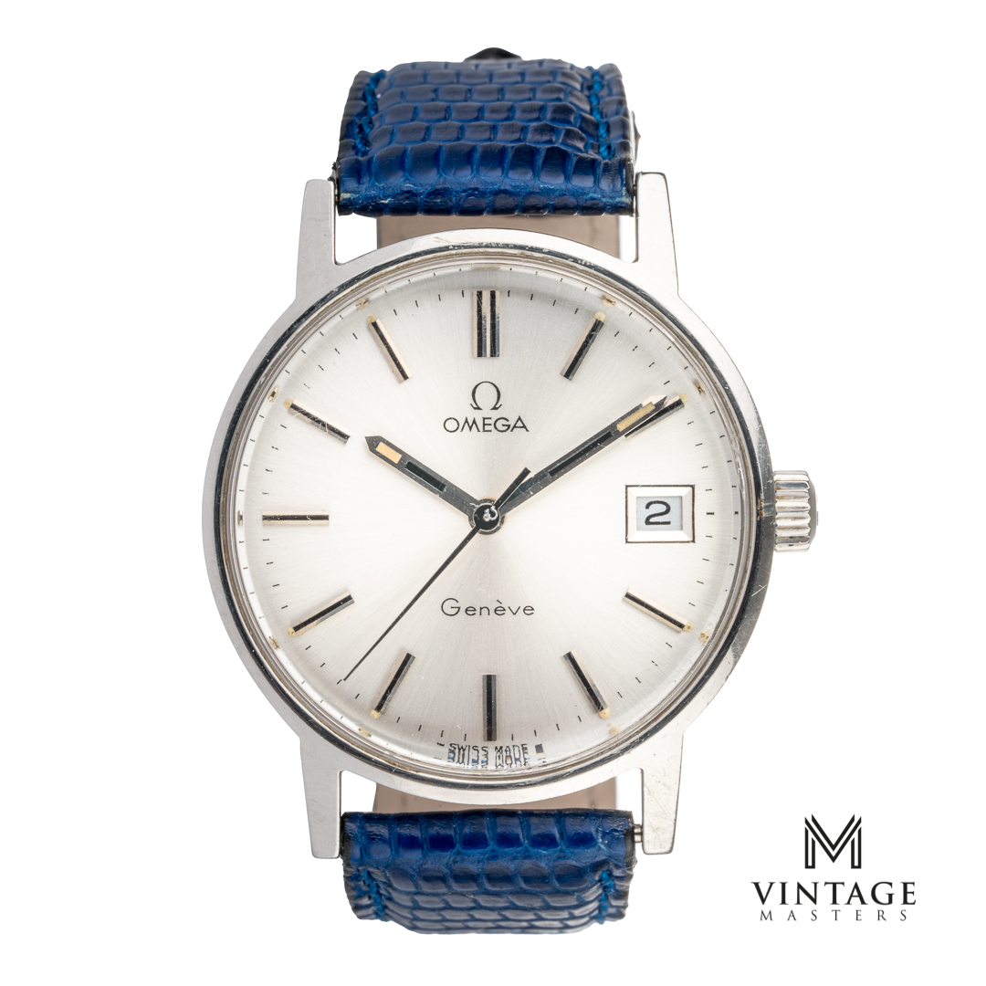 omega vintage geneve 1360098 1972 caliber 613 automatic watch