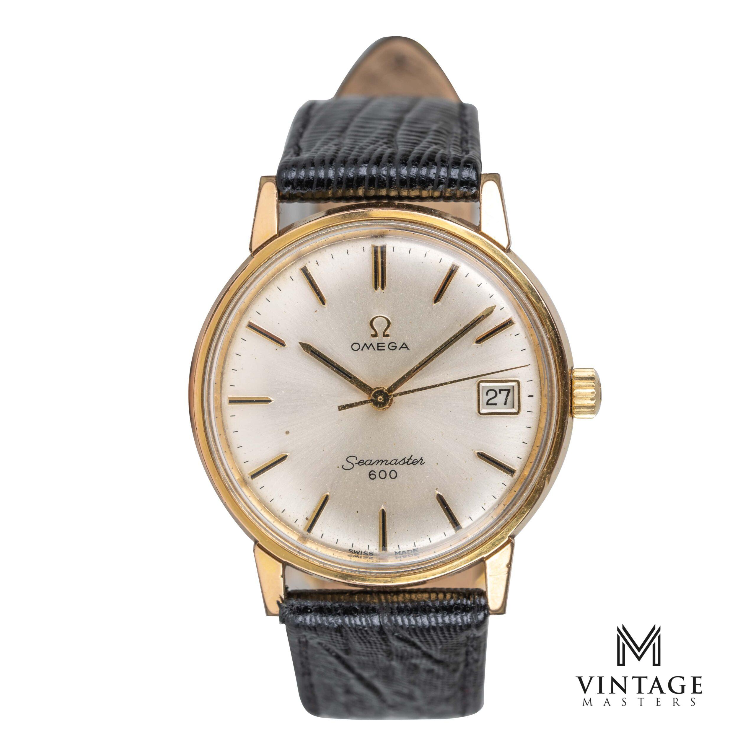 vintaeg omega seamaster 600 watch 136.011 1965 front