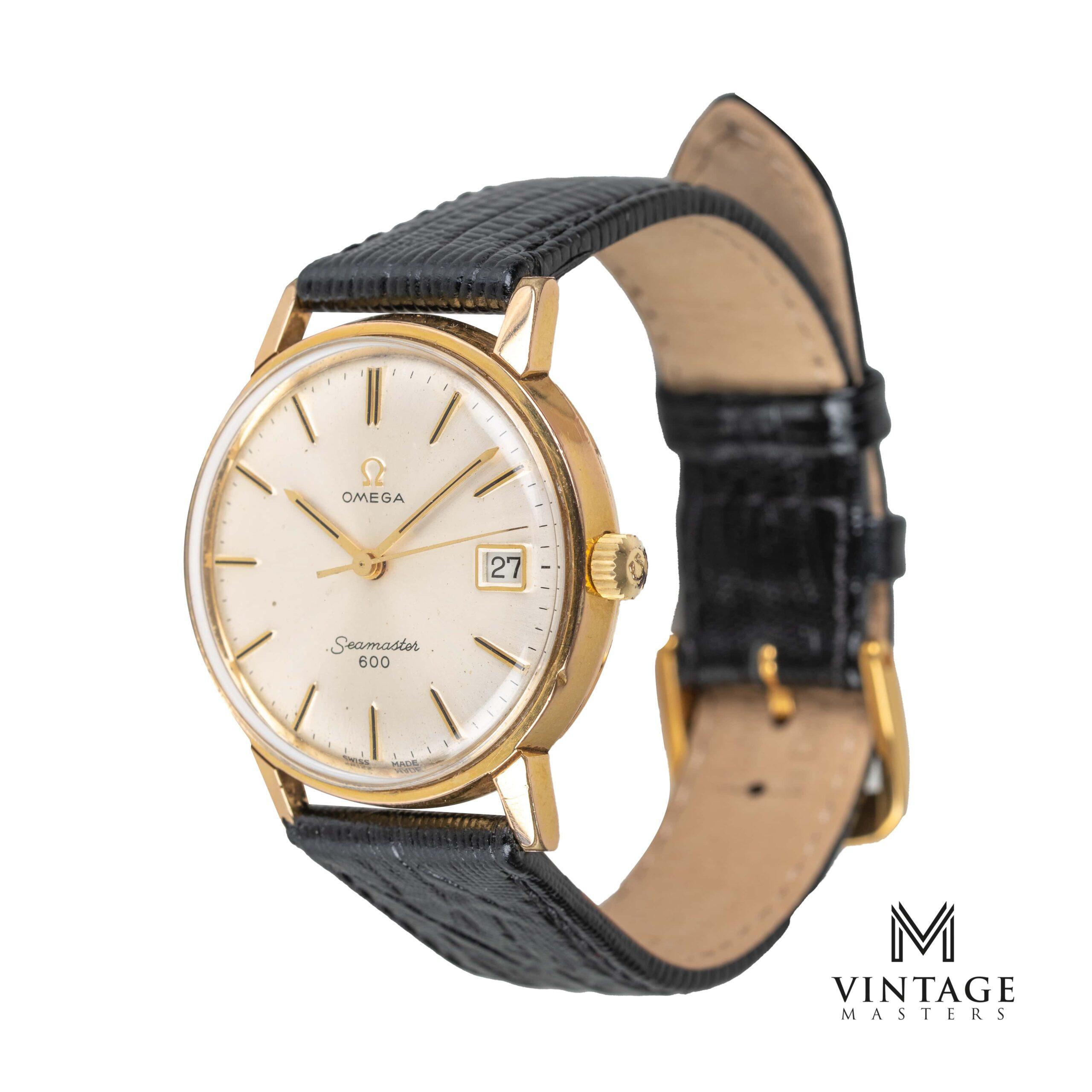 vintage omega seamaster 600 watch 136.011 1965 side