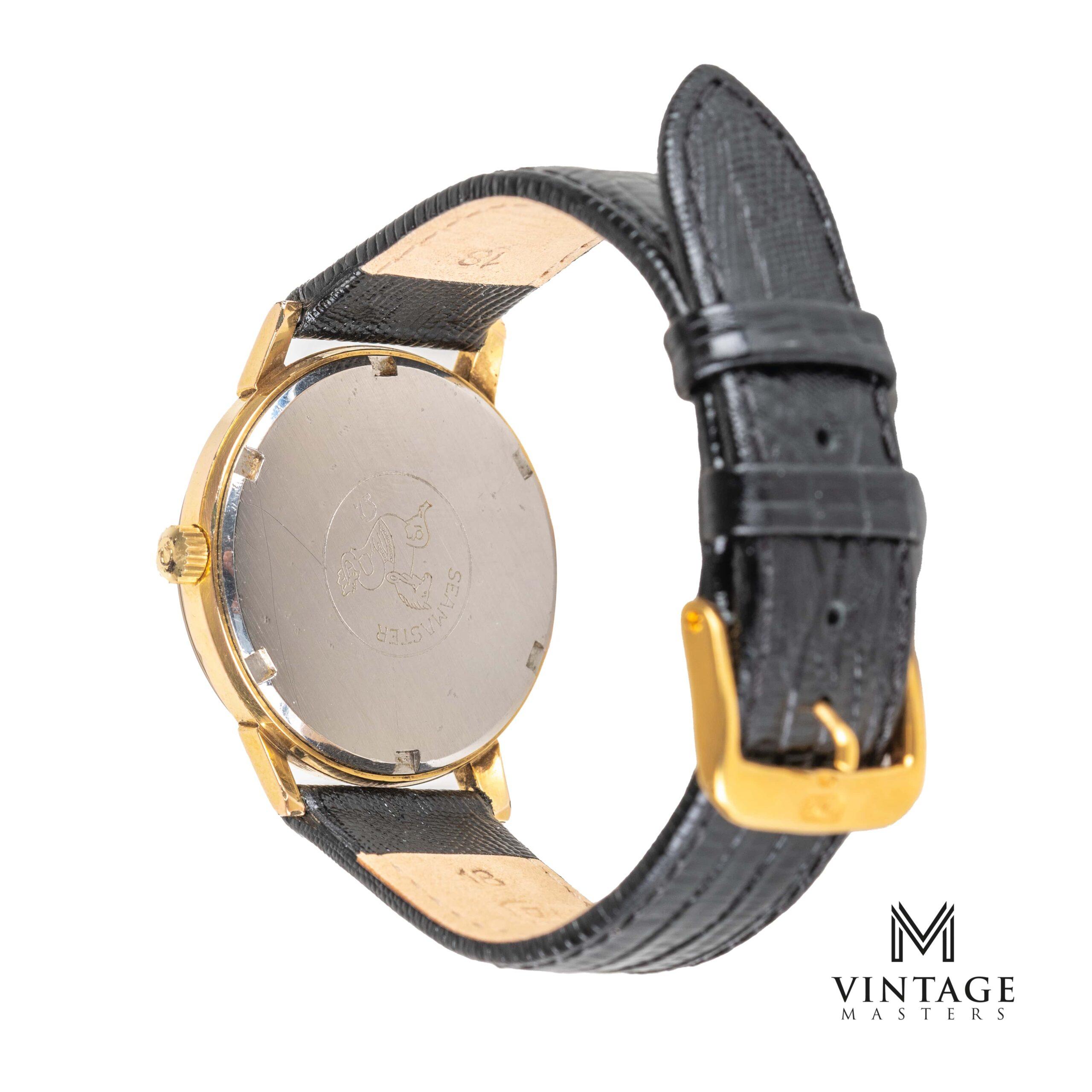 vintage omega seamaster 600 watch 136.011 1965 caseback