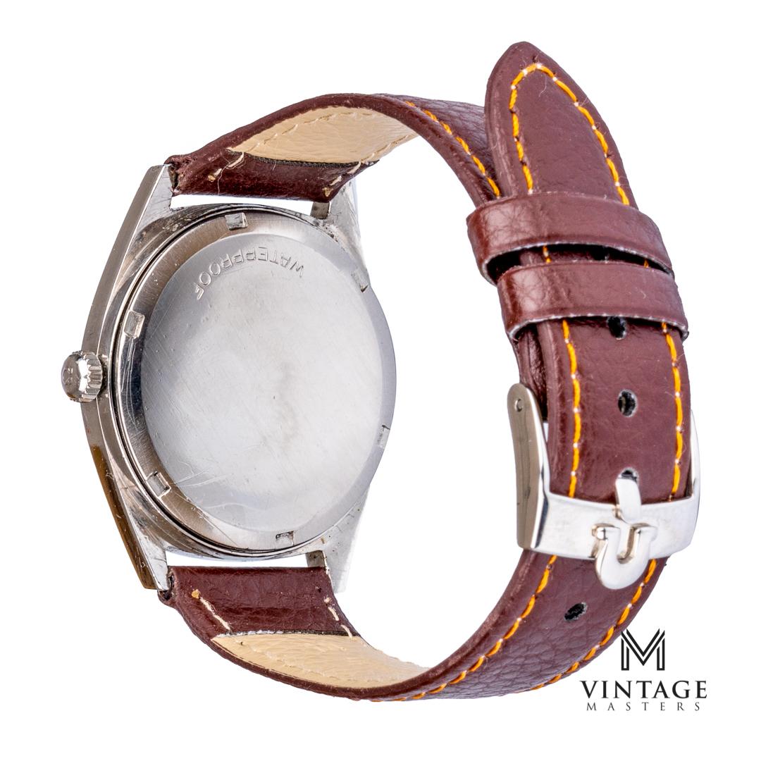 Omega geneve 135.041 cal 601 1968 vintage omega watch back