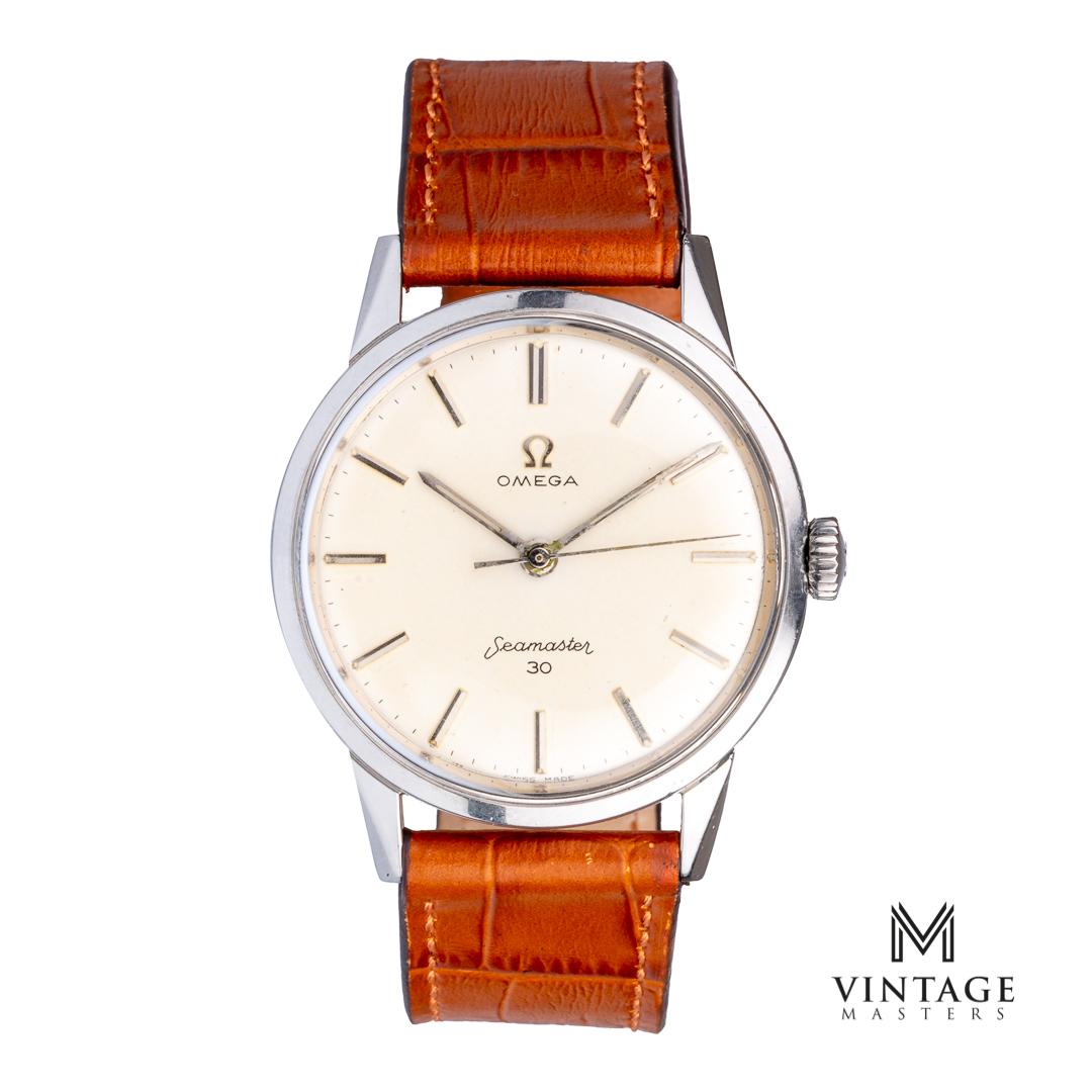 Omega seamaster 30 vintage watch 135003 caliber 286 1962 front