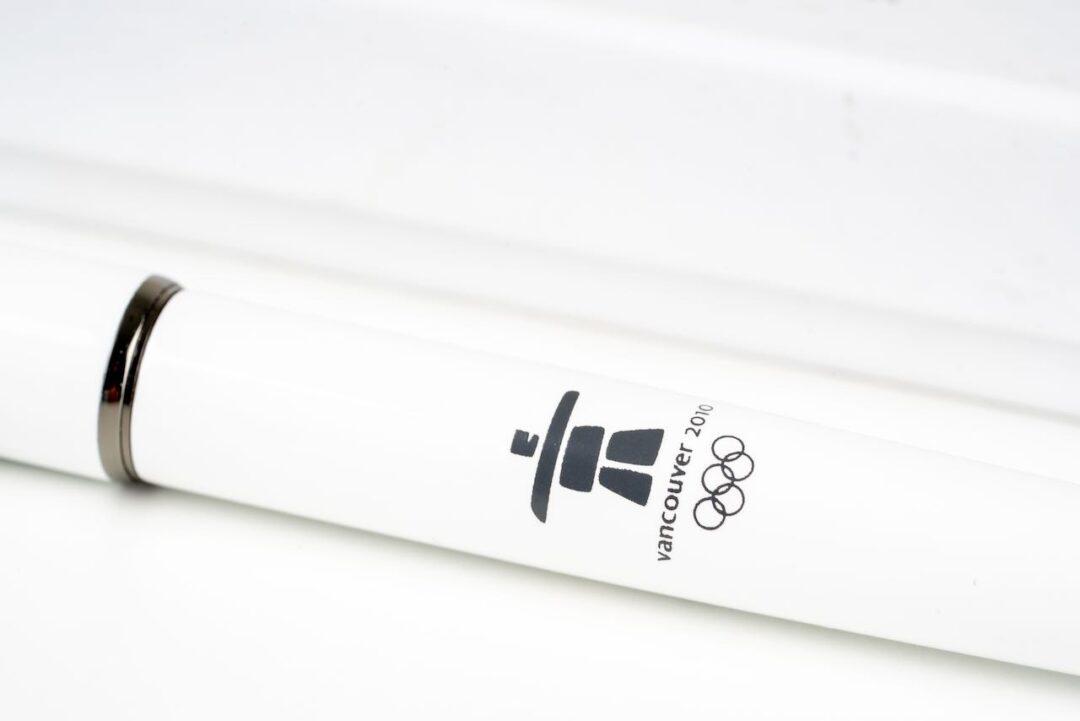 Omega white olympic games pen