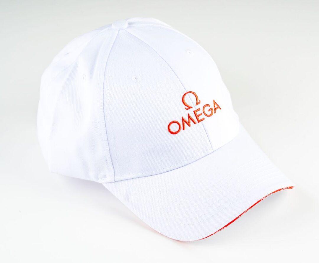 Omega cap white