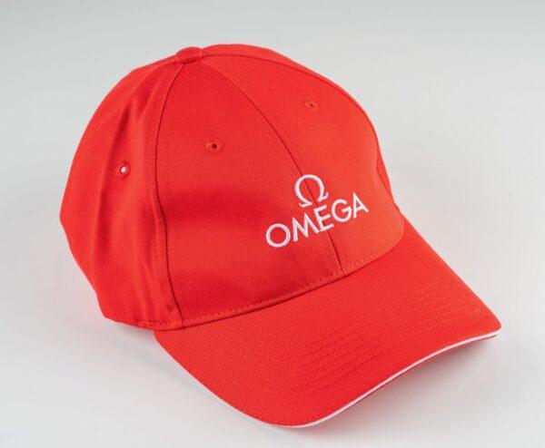 Omega red cap