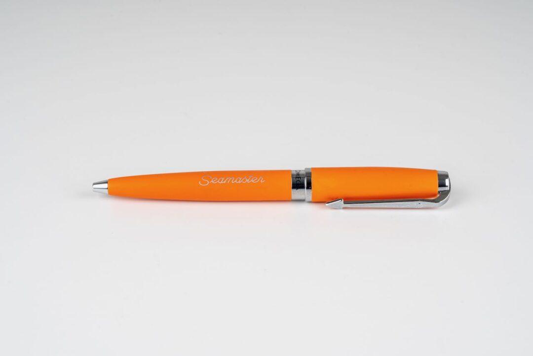 Omega seamaster pen orange