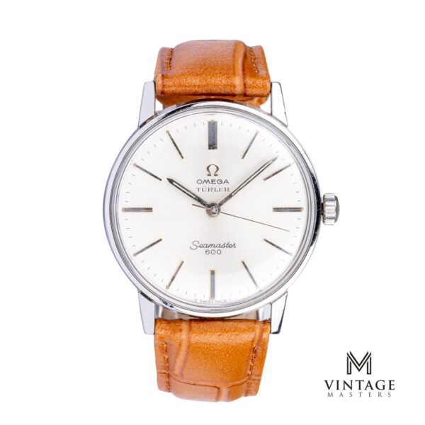 vintage Omega seamaster 600 turler signed 135011 watch front