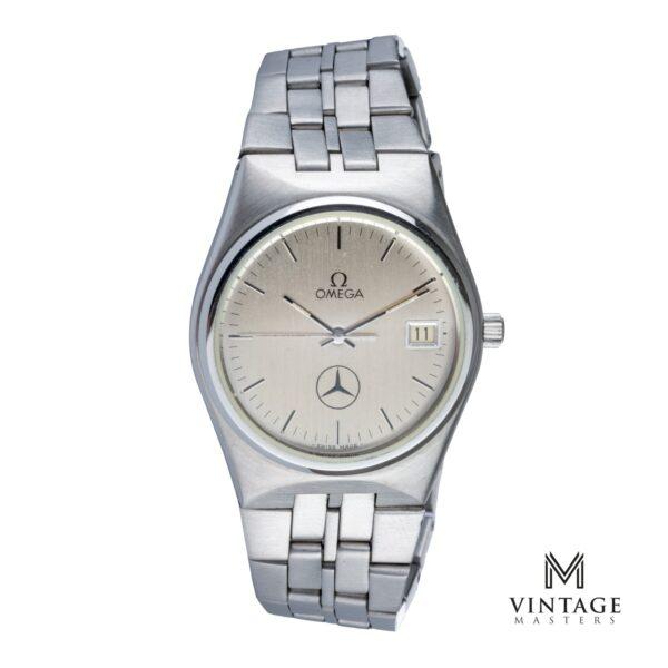 Vintage Omega Seamaster mercedes quartz 196095 cal 1342 front