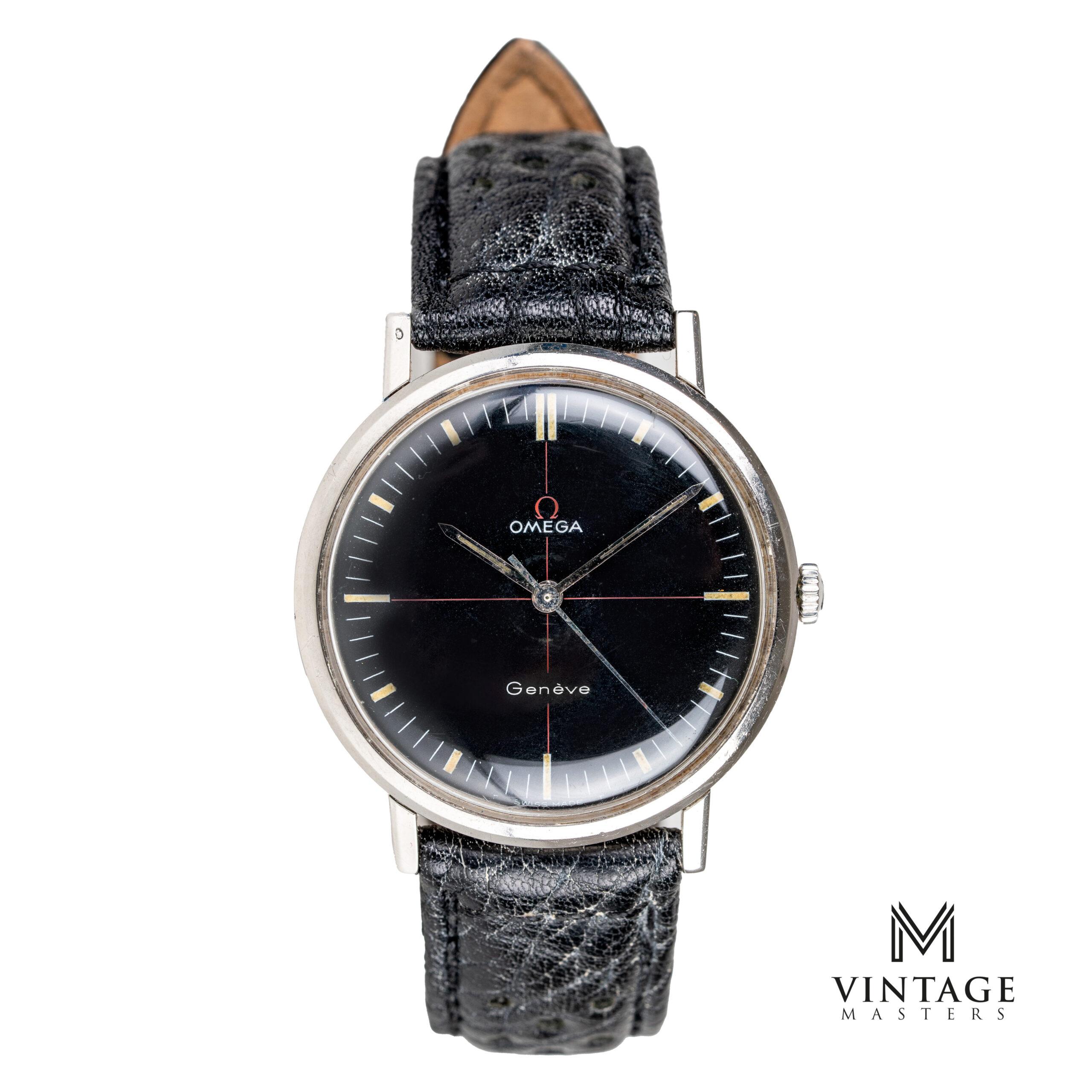 vintage omega geneve technical dial