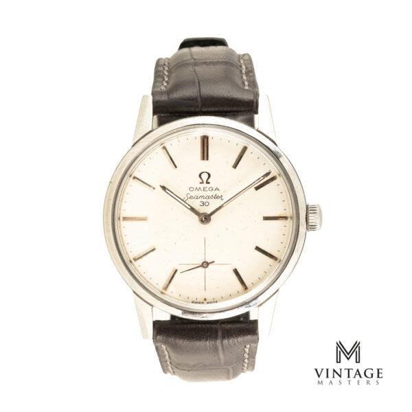 vintage omega seamaster 30 125.033-62 watch front