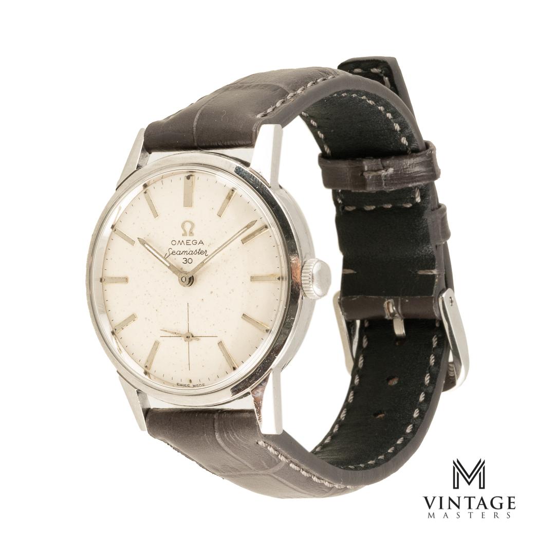 vintage omega seamaster 30 125.033-62 watch side