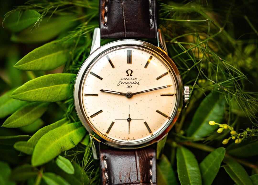 vintage omega seamaster 30 125.033-62 watch