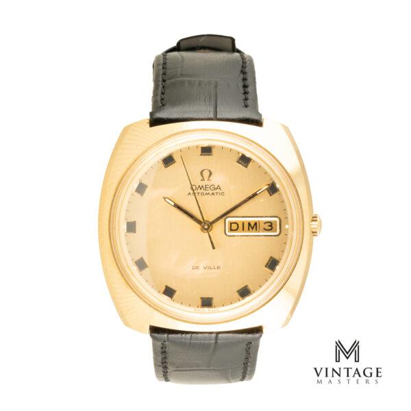 vintage Omega De Ville Day-Date 166.053 front
