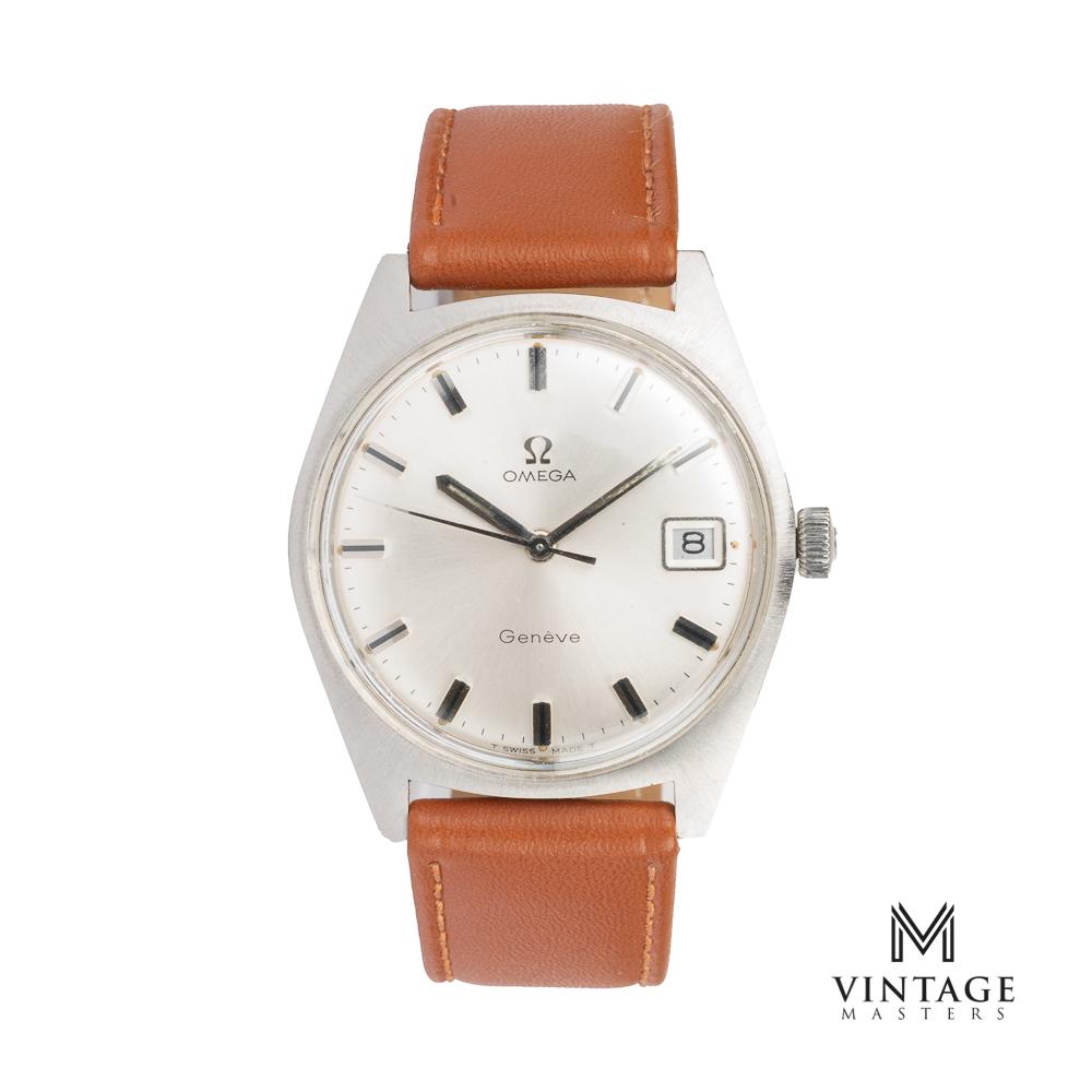 vintage Omega Geneve 136.041 from 1969 front