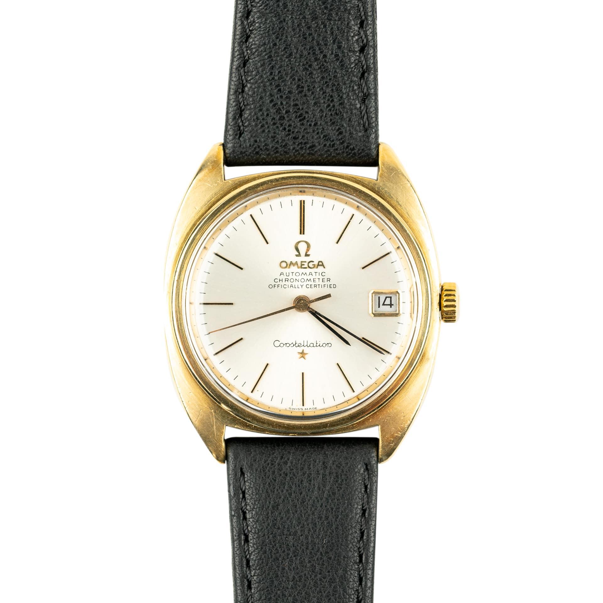 vintage Omega Constellation C-Shape 168.017 1966