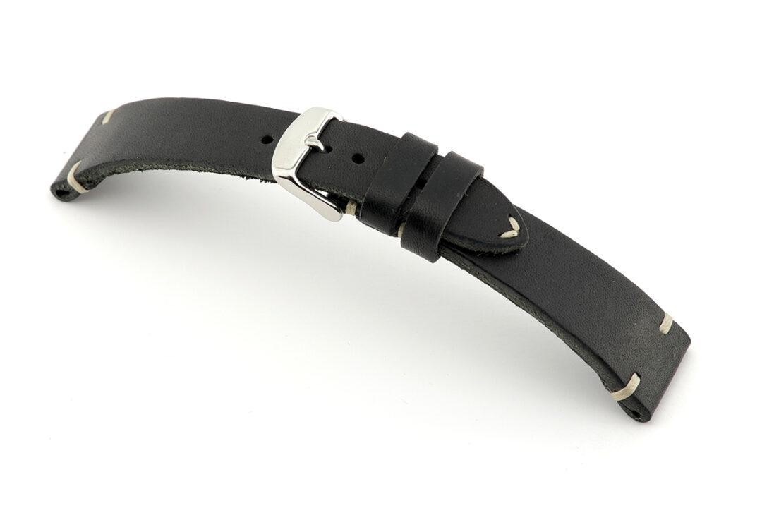 rios watts black watch strap