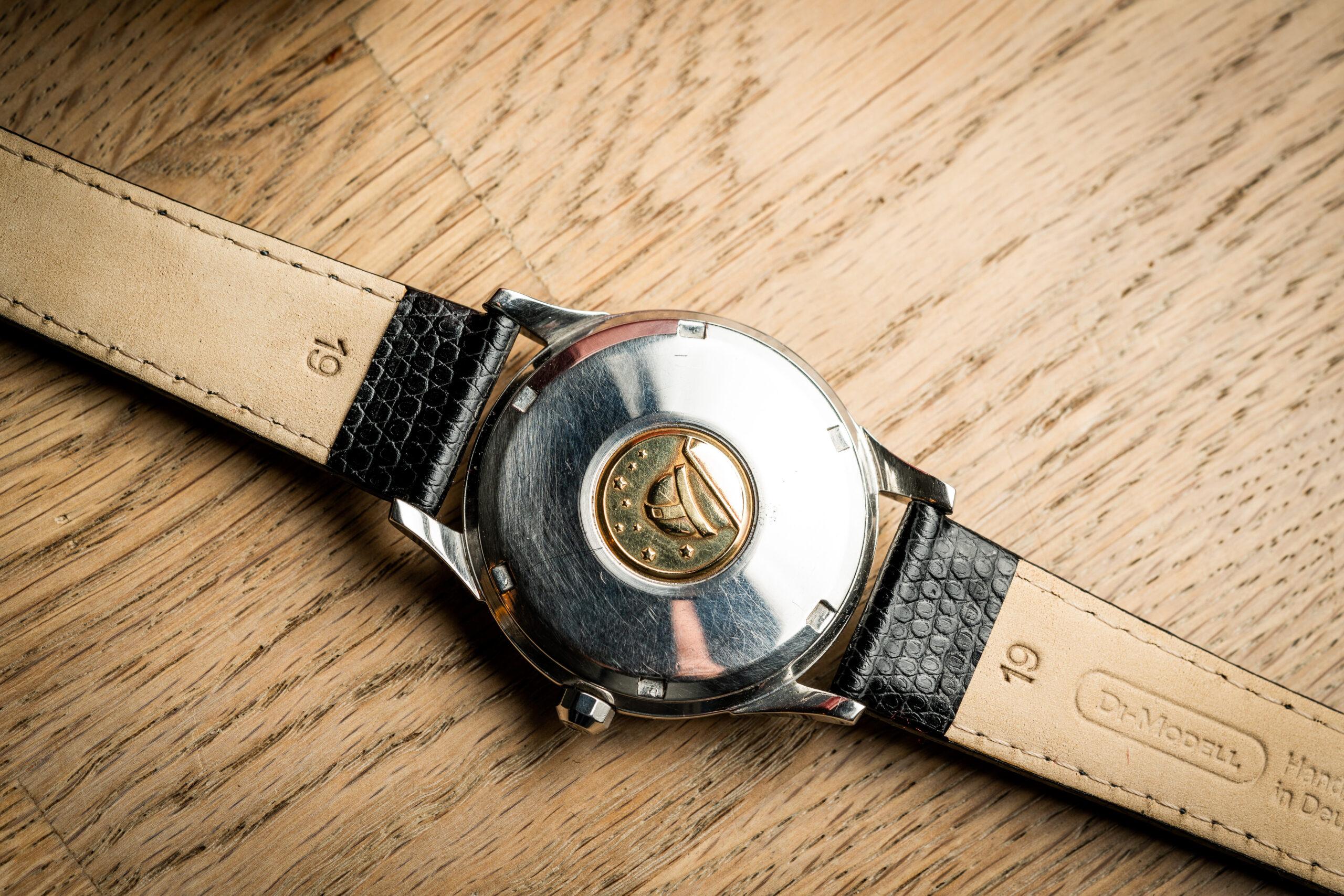 vintage omega 168001 jumbo watch 1966 caseback
