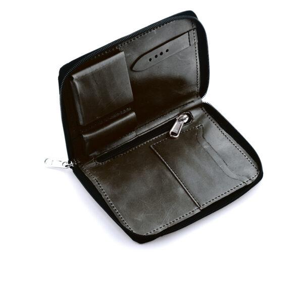 rios julius vintage leather travel pouch