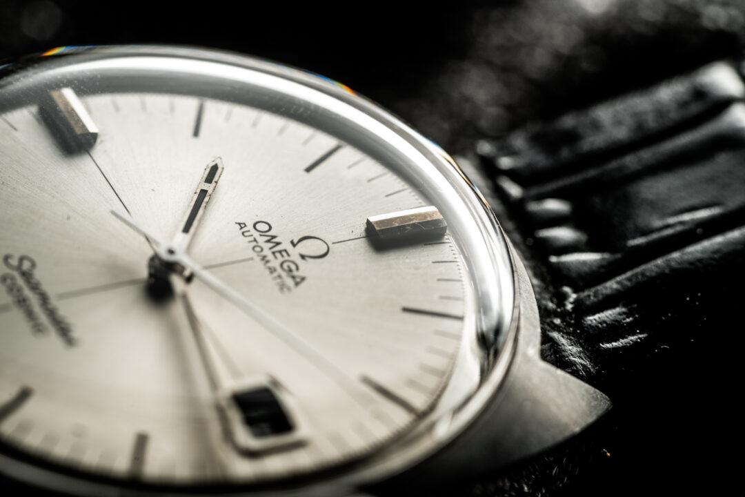 vintage Omega Seamaster Cosmic 166026 watch dial
