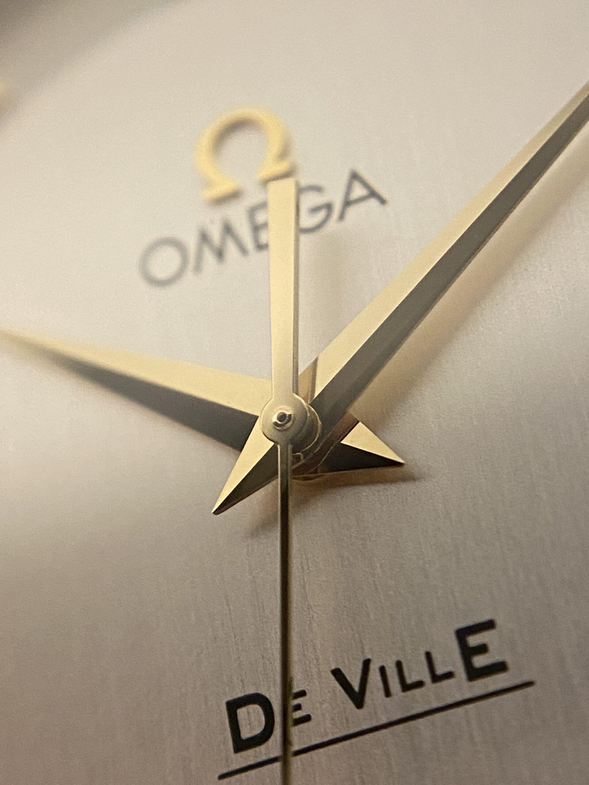De Ville Prestige 18k Solid Gold watch macro