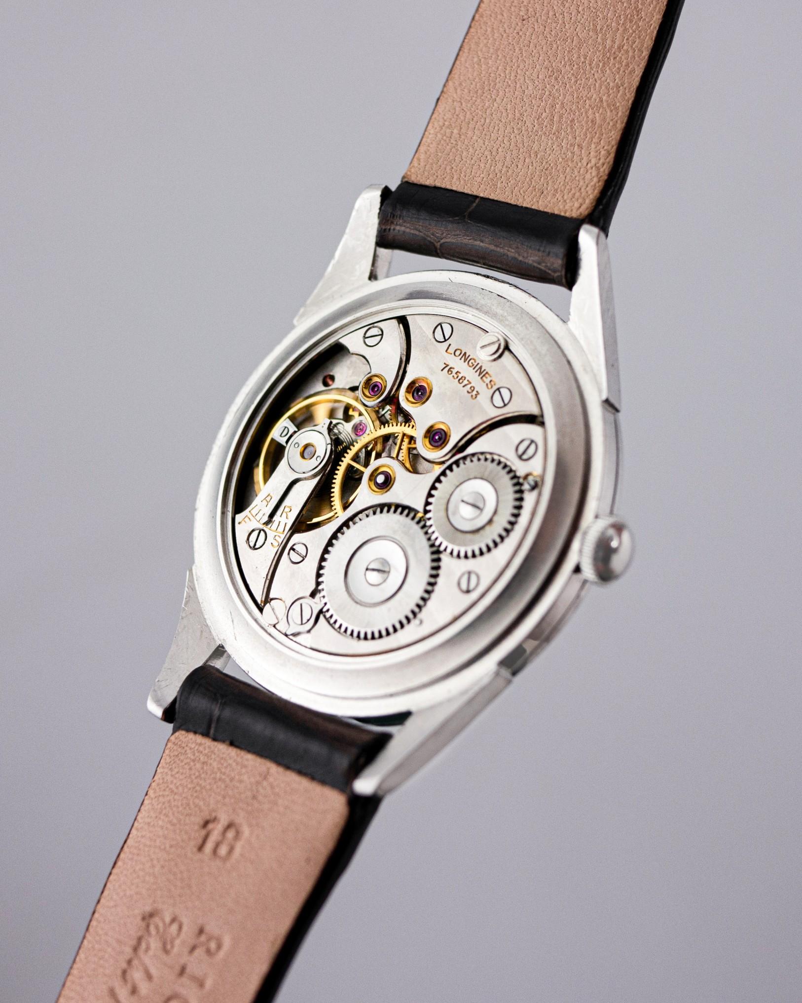 vintage longines watch movement