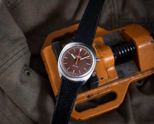 vintage Omega geneve chronostop watch