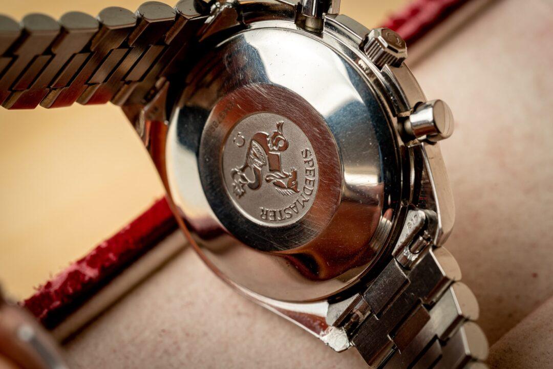Omega speedmaster reduced 351150 reverse panda full set watch 2001 caseback