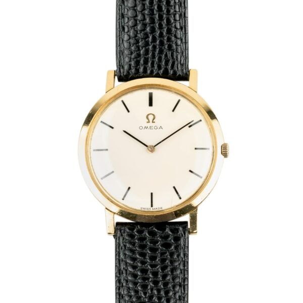 Vintage Omega Ultra-Thin 18k Dress Watch 111.046 1965