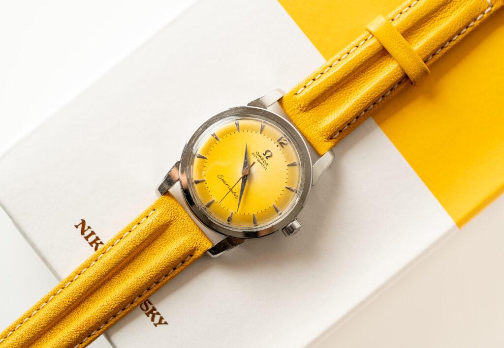 vintage omega 2848 watch beefy lugs 1954