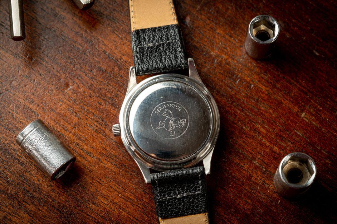 vintage omega seamaster cosmic 2000 166.0218 watch caseback