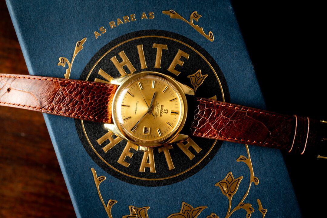vintage omega seamaster chronometer 168022 18k solid gold