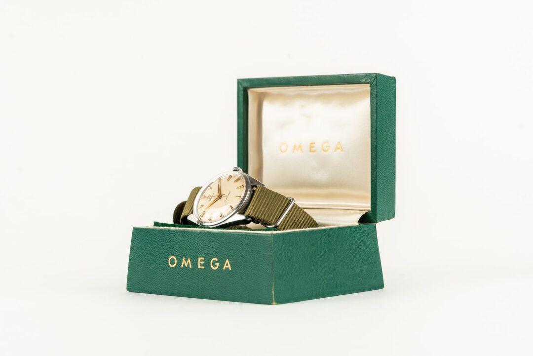 vintage omega 2990 seachero 2996 watch with box
