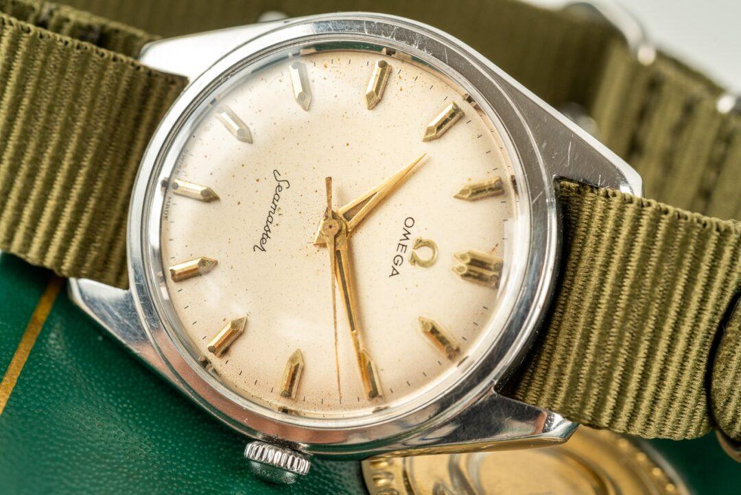 vintage omega 2990 seachero 2996 watch dial