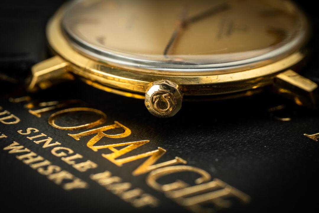 Omega de ville 18k gold 161024 from 1966 crown