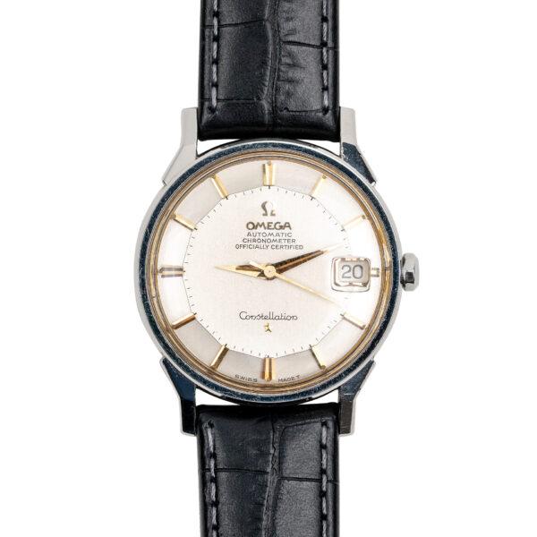 vintage omega constellation pie pan 168005 watch